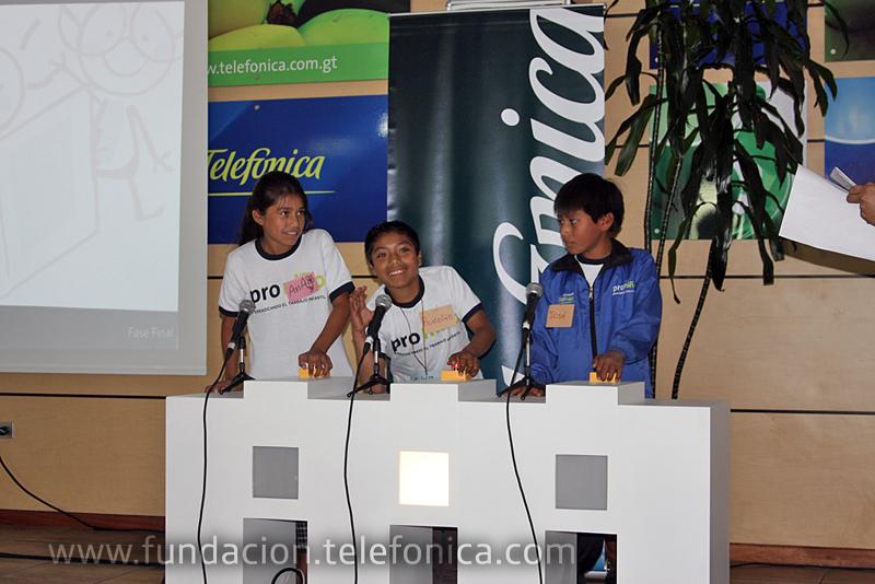 Olimpiadas estudiantiles Proniño organizadas por Fundación Telefónica.