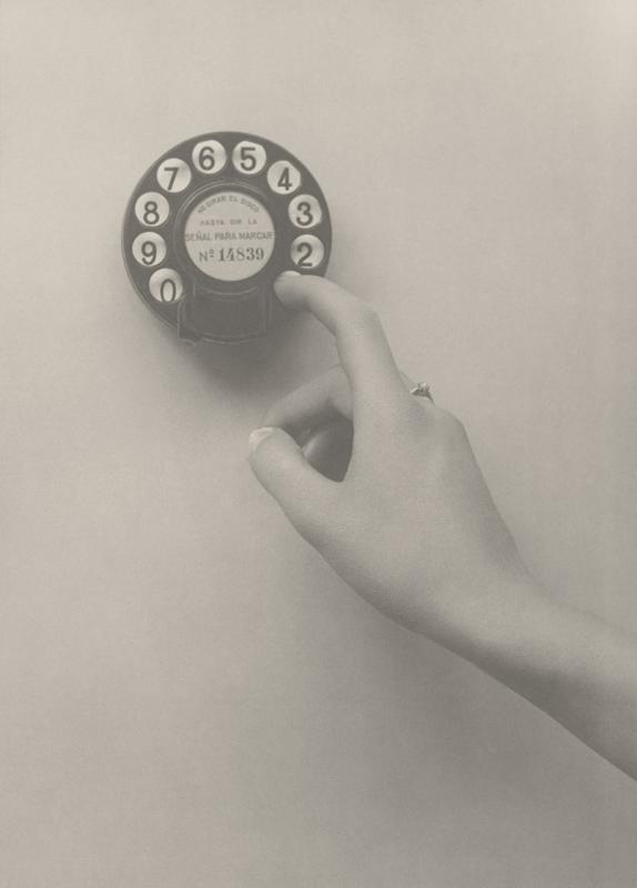 Alfonso, 1926. Cómo marcar un número. Instrucciones fotográficas.