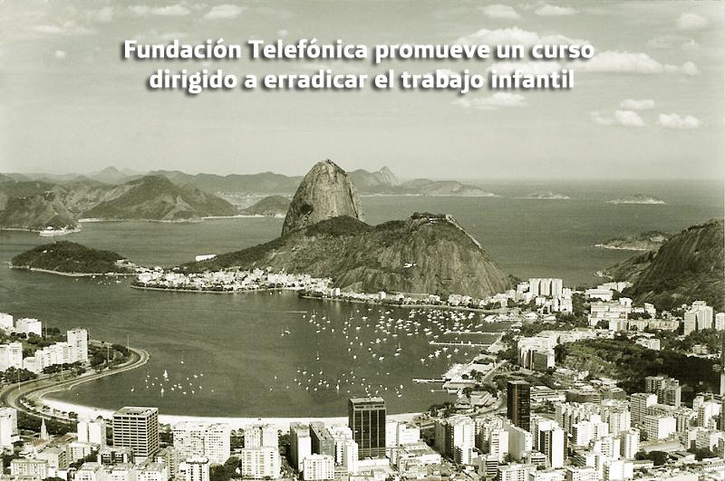 Fundación Telefónica promueve un curso dirigido a erradicar el trabajo infantil.