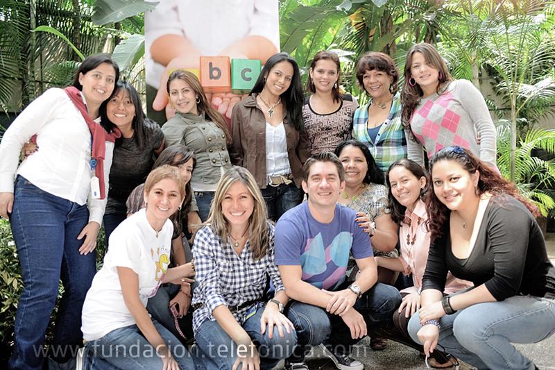 Fundación Telefónica reunió a los docentes de  las aulas en hospitales en la II Jornada Nacional de Intercambio y Buenas Prácticas, encuentro en el cual reflexionaron sobre las actividades pedagógicas desempeñadas en los distintos hospitales a nivel nacional.