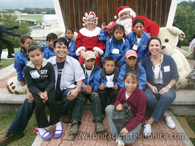 El objetivo es celebrar la navidad con más de 2 mil niños y niñas de escasos recursos de distintas organizaciones.
