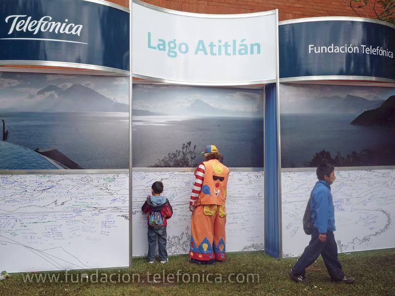 Fundación Telefónica participó con el stand