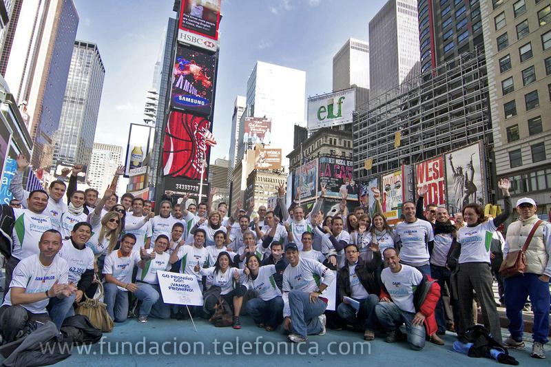 El maratón de Nueva York se solidariza con Proniño.