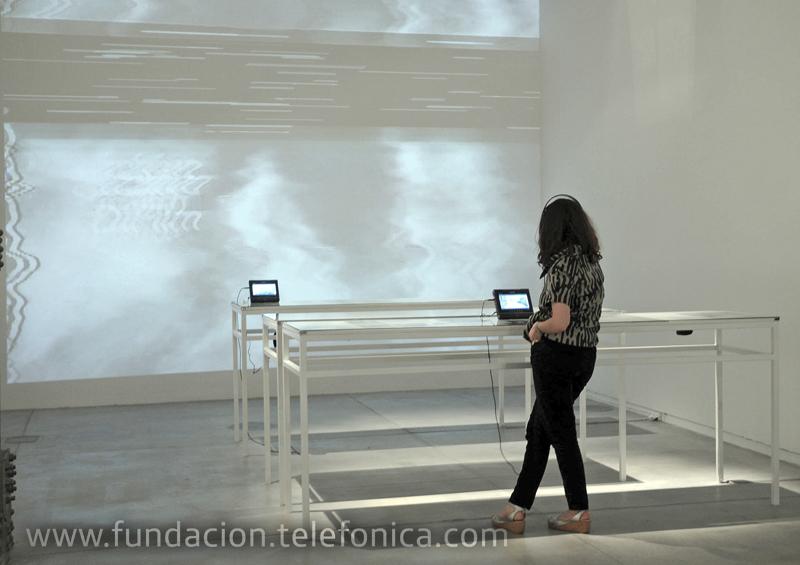 """Espacio Fundación Telefónica presenta la muestra de video """"El arte de la televisión""""."""