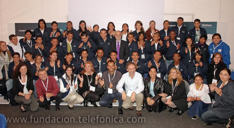 El I Encuentro Internacional de Jóvenes Fundación Telefónica se cierra en Colombia con una participación muy activa.