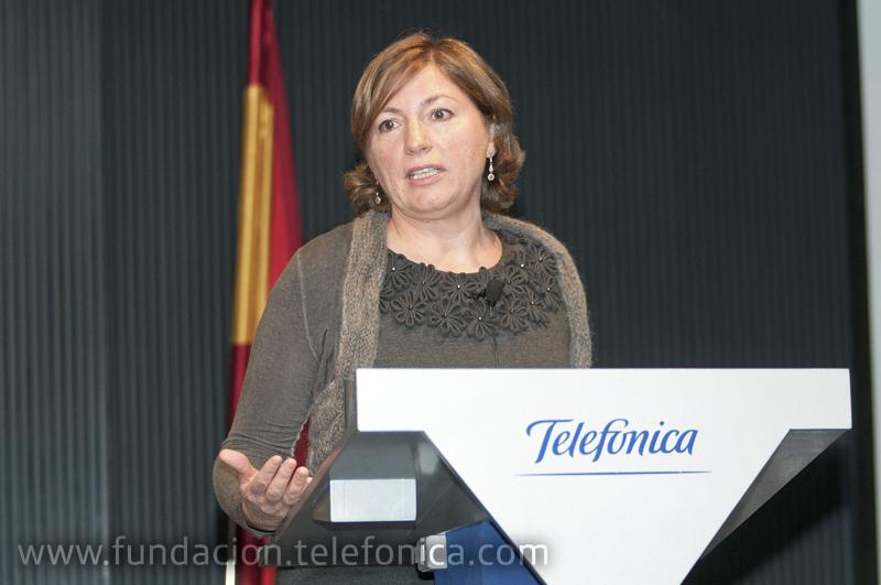 La subdirectora de Comunicación de Iberia, Margarita Gutiérrez.