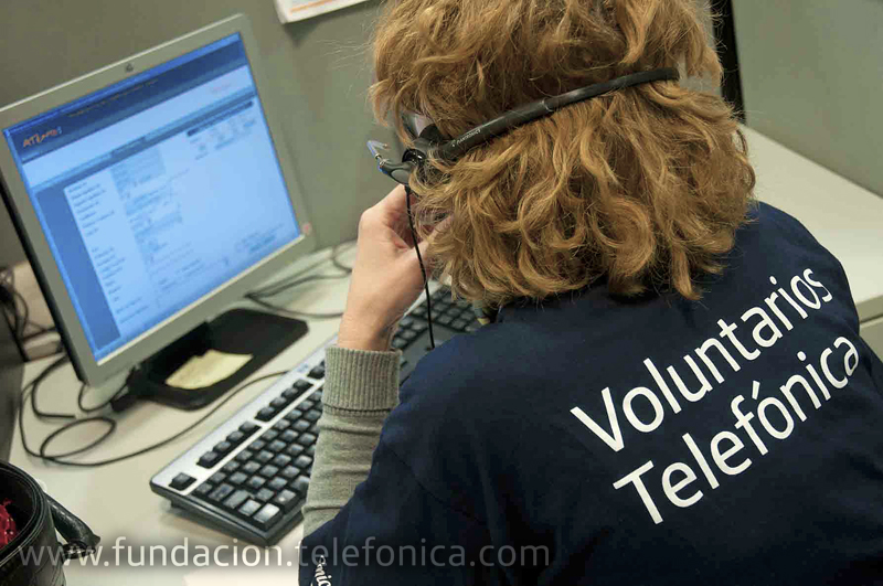 Cerca de 230 Voluntarios Telefónica participaron como teleoperadores solidarios en la Gala Inocente Inocente.