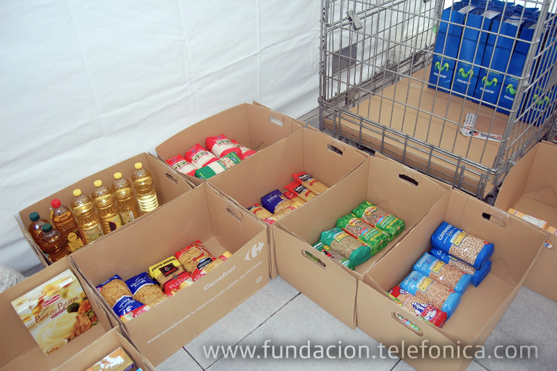 En esta edición de la Campaña de Alimentos se han recogido más de 15 toneladas de productos no perecederos.