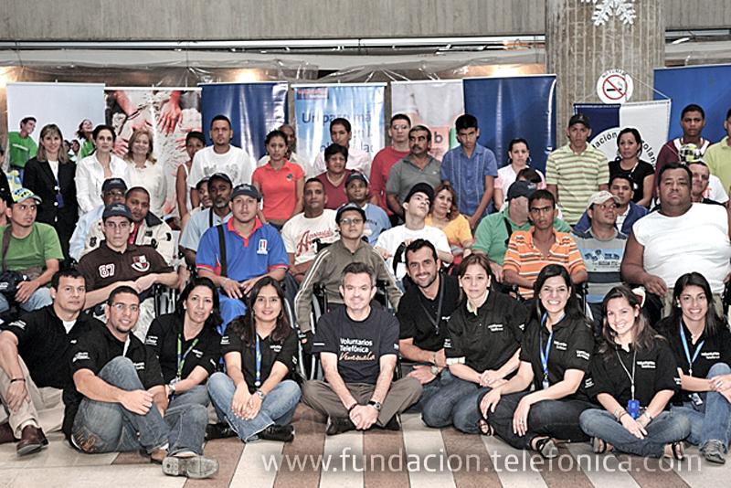 Fundación Telefónica y Fundaprocura ponen a rodar nuevas esperanzas por Caracas.