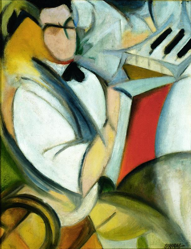 Rafael Barradas. Retrato de Antonio.