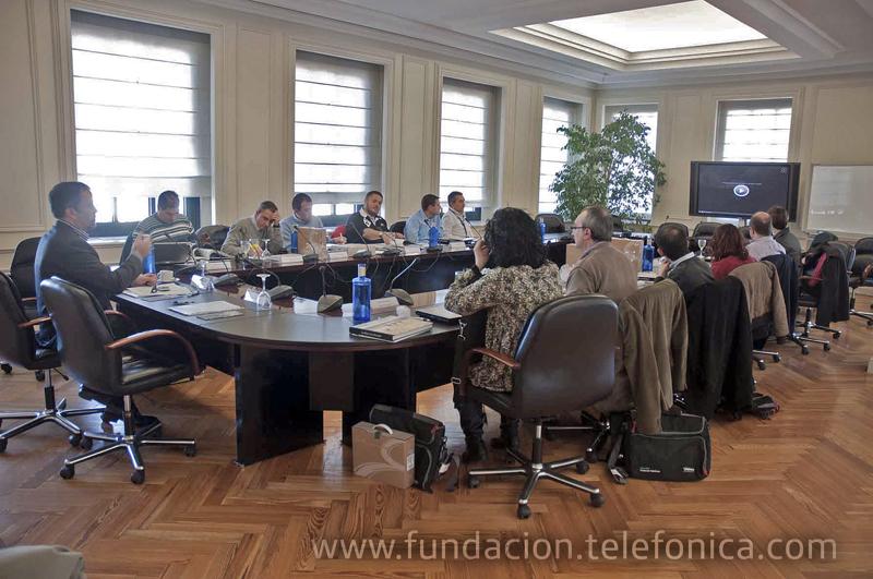 Algunos de los principales blogueros españoles participaron en un debate organizado por Fundación Telefónica