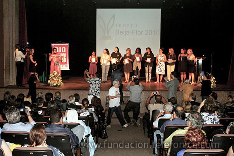 Fundación Telefónica gana un premio por la celebración del Día del Voluntario.