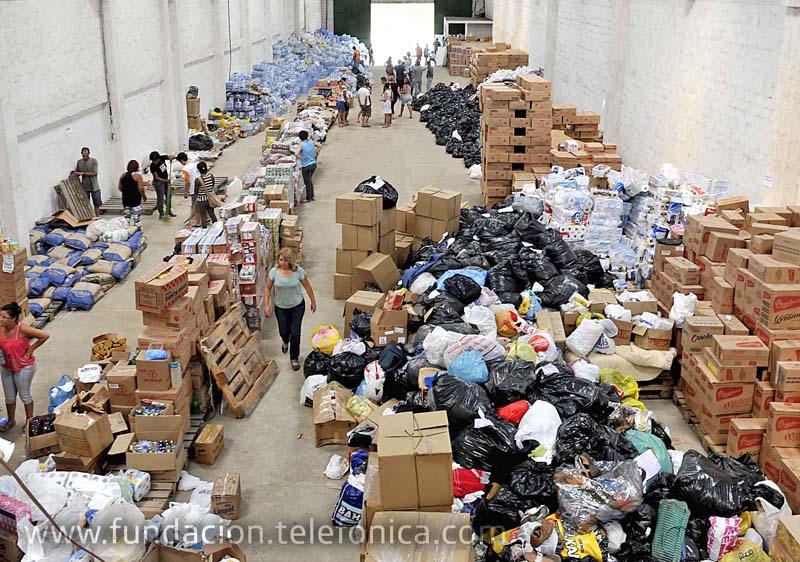 Ayudamos a las víctimas de las inundaciones de Brasil.