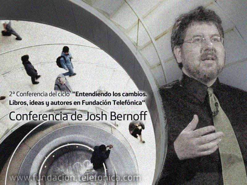 """El vicepresidente de Forrester Research y coautor de los libros """"El mundo groundswell"""" y """"Empowered"""", Josh Bernoff."""