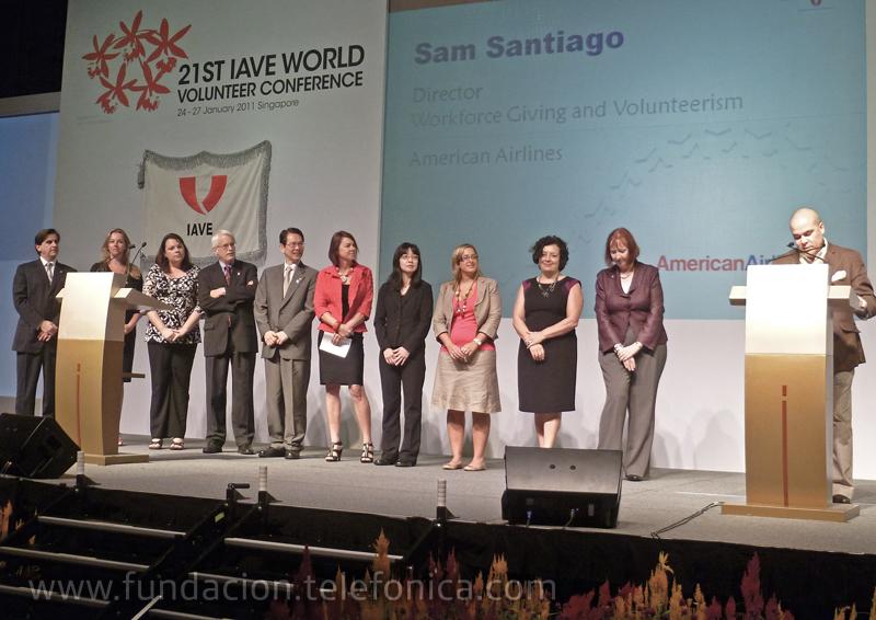 Fundación Telefónica participó en la 21ª Conferencia de Voluntariado del IAVE.