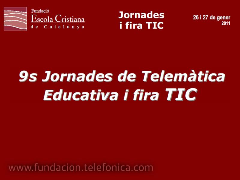 IX Jornadas de telemática educativa.
