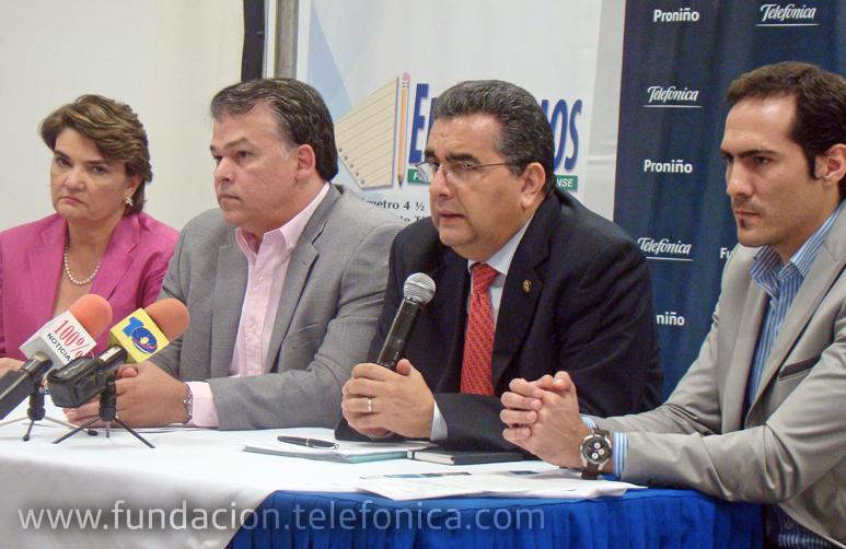 """""""Eduquemos"""" y Fundación Telefónica han presentado la campaña """"Todos y todas a estudiar"""""""