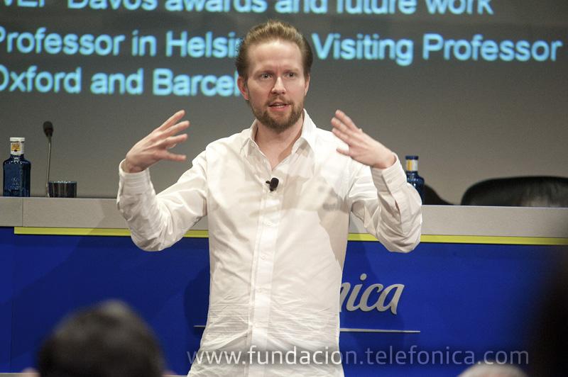 Pekka Himanen es autor de La ética del hacker y el espíritu de la era de la información.
