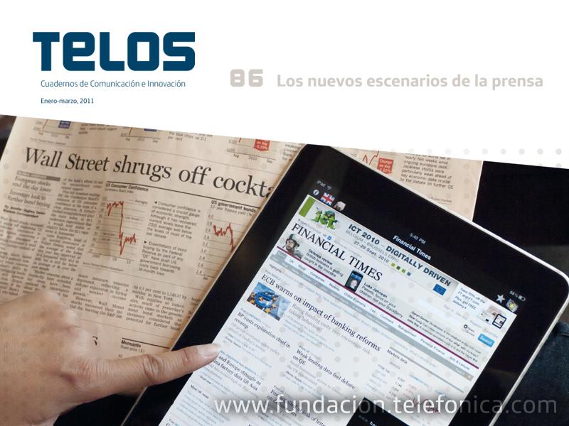 Presentación del número 86 de la revista TELOS.