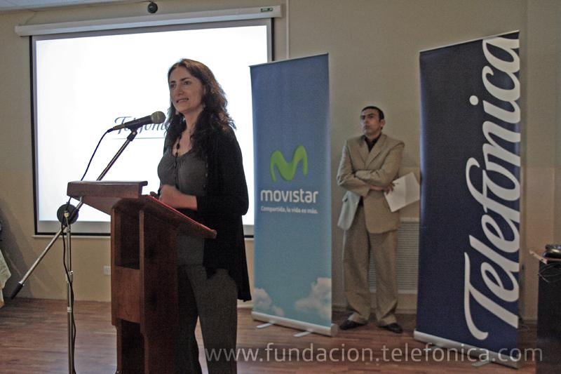 Intervención de María Augusta Proaño, Directora de Fundación Telefónica Ecuador.