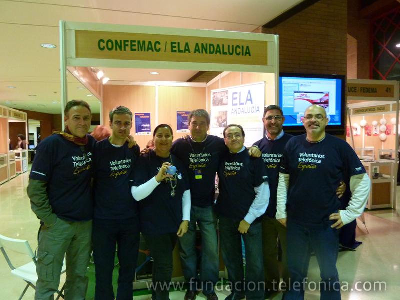 Los Voluntarios Telefónica participaron en el 8º Congreso Andaluz del Voluntariado.