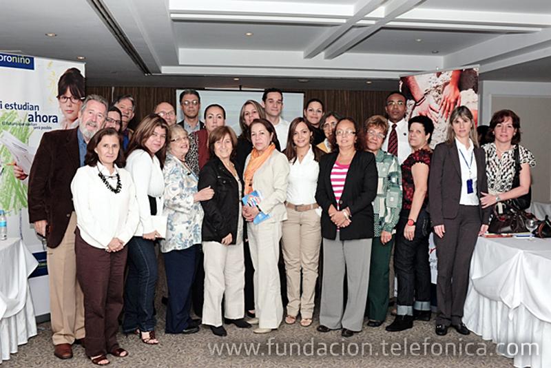 Fundación Telefónica realizó encuentros con actores interesados en el tema del trabajo infantil.