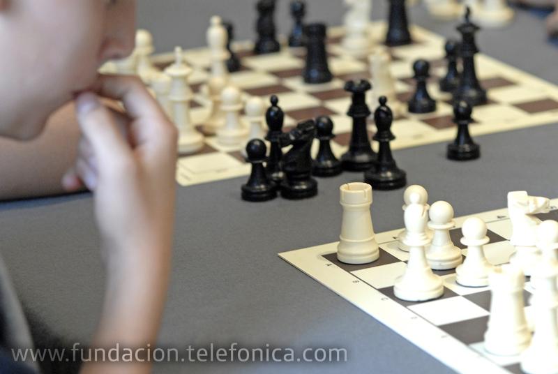 Entrega de premios del 12º Campeonato de España de Ajedrez escolar por Internet - EducaRed 2010