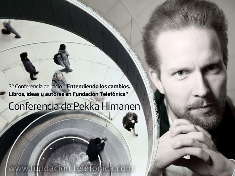 Pekka Himanen es un filósofo finlandés, doctor por la Universidad de Helsinki, que ha trabajado como investigador en Finlandia, Inglaterra y en las universidades norteamericanas de Stanford y Berkeley.