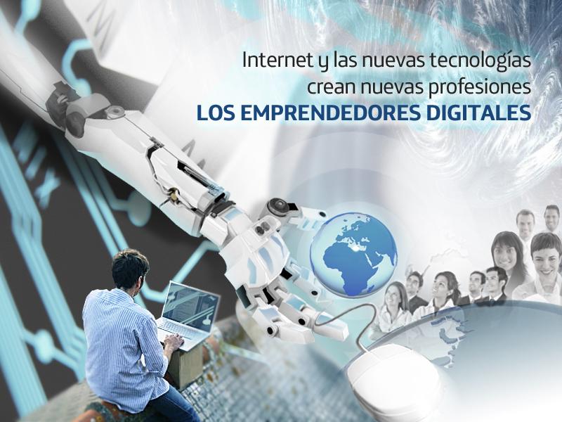 """Clausura del ciclo """"Internet y las nuevas tecnologías crean nuevas profesiones"""": Los emprendedores digitales"""