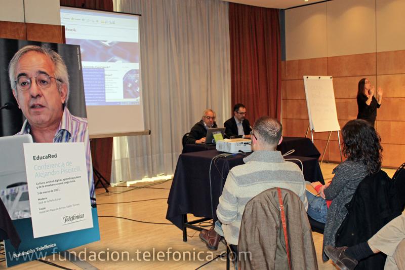 Alejandro Piscitelli durante su conferencia en Sevilla el pasado 3 de marzo.