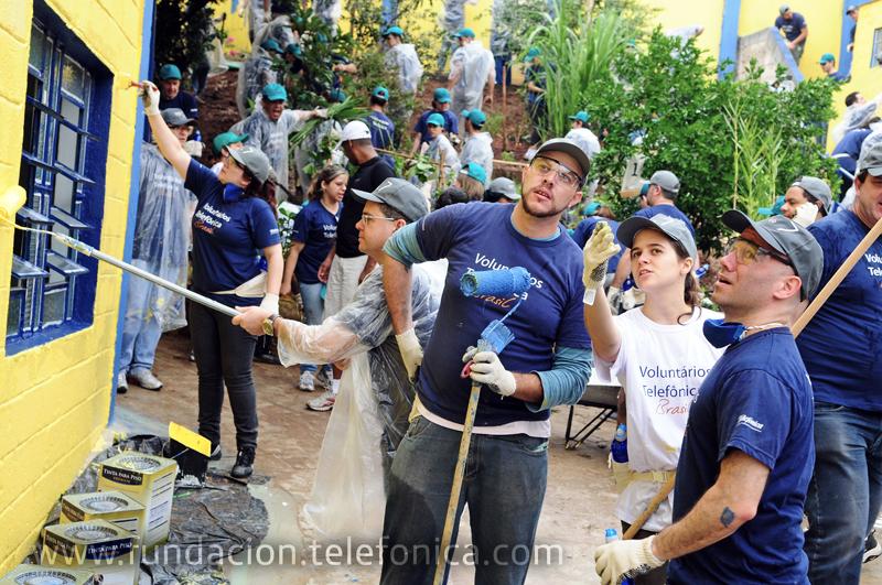 """La asociación """"Premios Ciudadanos"""" ha reconocido la labor desarrollada por Voluntarios Telefónica."""
