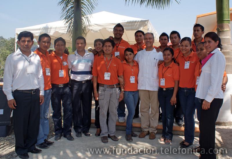 Fundación Telefónica impulsa el uso de las TIC´s en la educación mexicana.