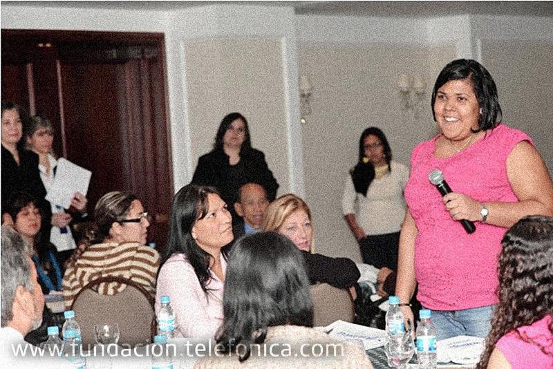Docentes de las Aulas Fundación Telefónica en escuelas Proniño se reunieron en el I Encuentro Nacional de dinamizadores.