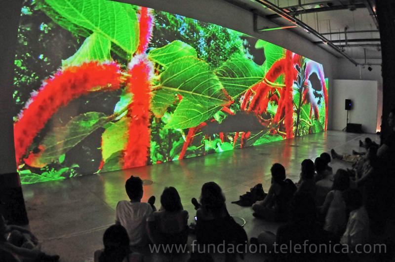 Los días 10, 11 y 12 de marzo se desarrollaron actividades dedicadas a presentar y explorar técnicas vinculadas al video, la performance y la composición en vivo.