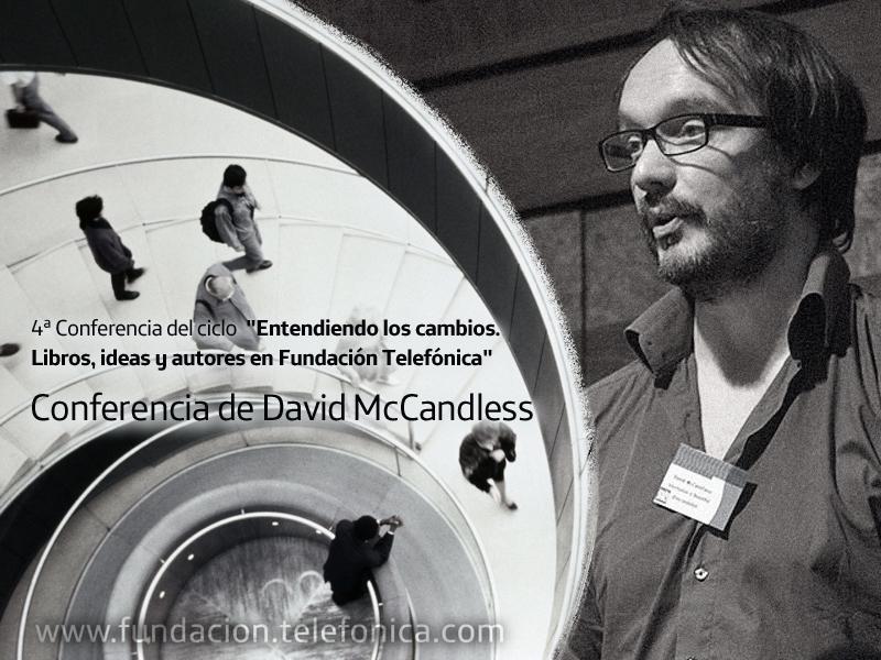 """Conferencia de David McCandless """"La información es bella""""."""