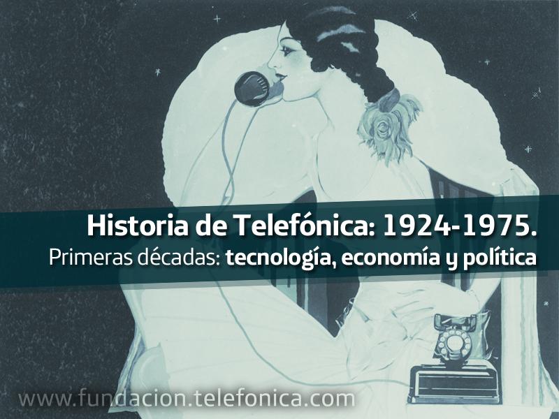 """Presentación del libro """"Historia de Telefónica: 1924-1975. Primeras décadas: tecnología, economía y política"""" en Distrito C."""