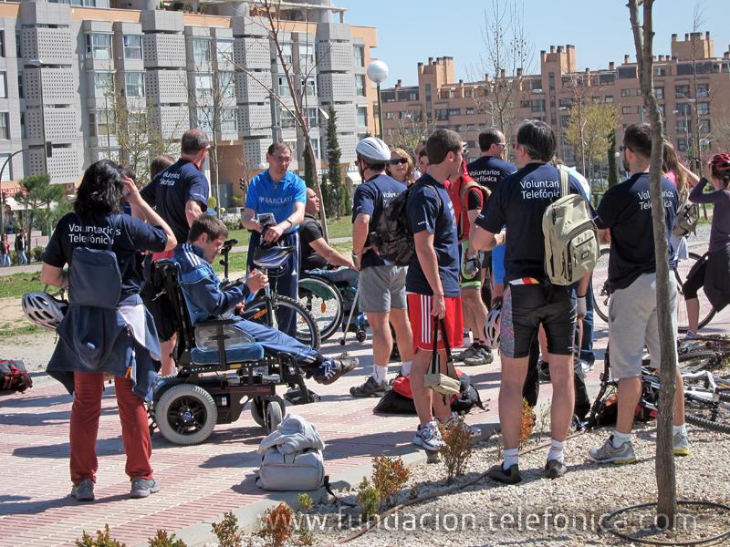 El objetivo es fomentar la integración social a través del ciclismo adaptado.