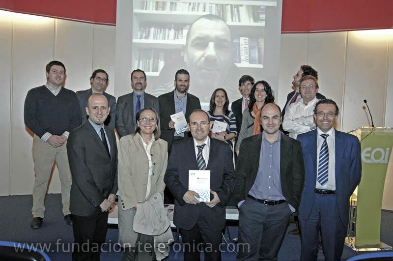 El acto de presentación contó con la presencia de los autores del libro.