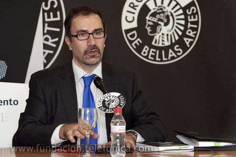 José de la Peña Aznar, Director de Conocimiento en Red de Fundación Telefónica.