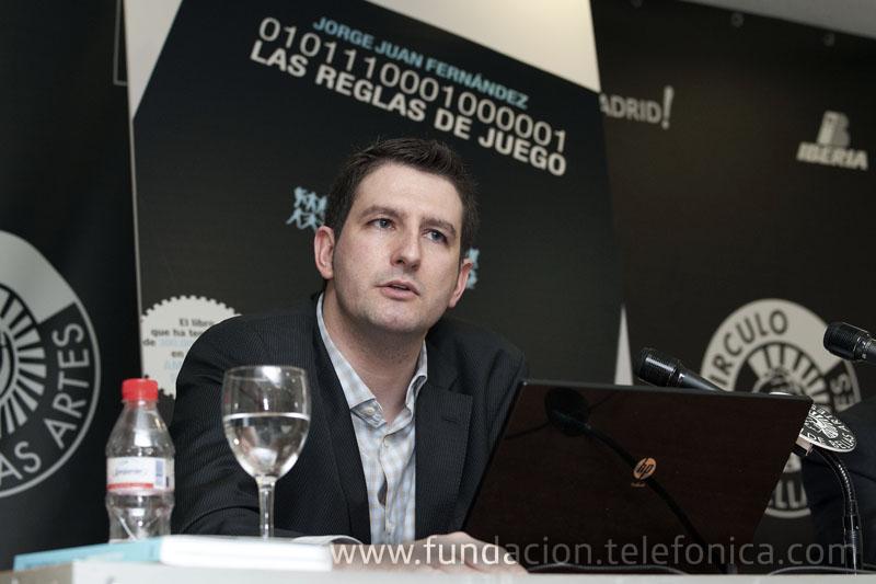 Jorge Juan Fernández, autor del libro.