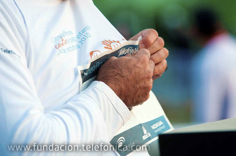 Fundación Telefónica organiza en Zaragoza la Carrera Proniño, una cita solidaria que tiene como objetivo concienciar a los ciudadanos sobre la necesidad de erradicar el trabajo infantil.