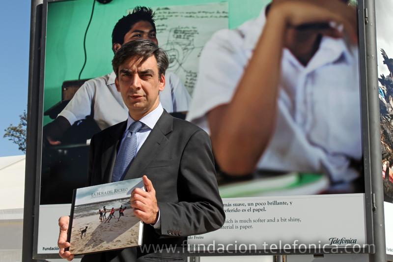 José Manuel del Arco, Director Territoria de Telefónica en la Comunidad Valenciana, Murcia y Baleares.