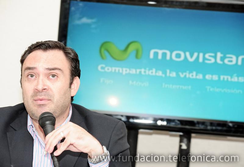 Douglas Ochoa, Vicepresidente Comunicaciones Corporativas y Fundación Telefónica de Telefónica Venezuela.