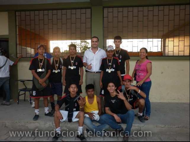 Jornada deportiva en Manta (Ecuador)