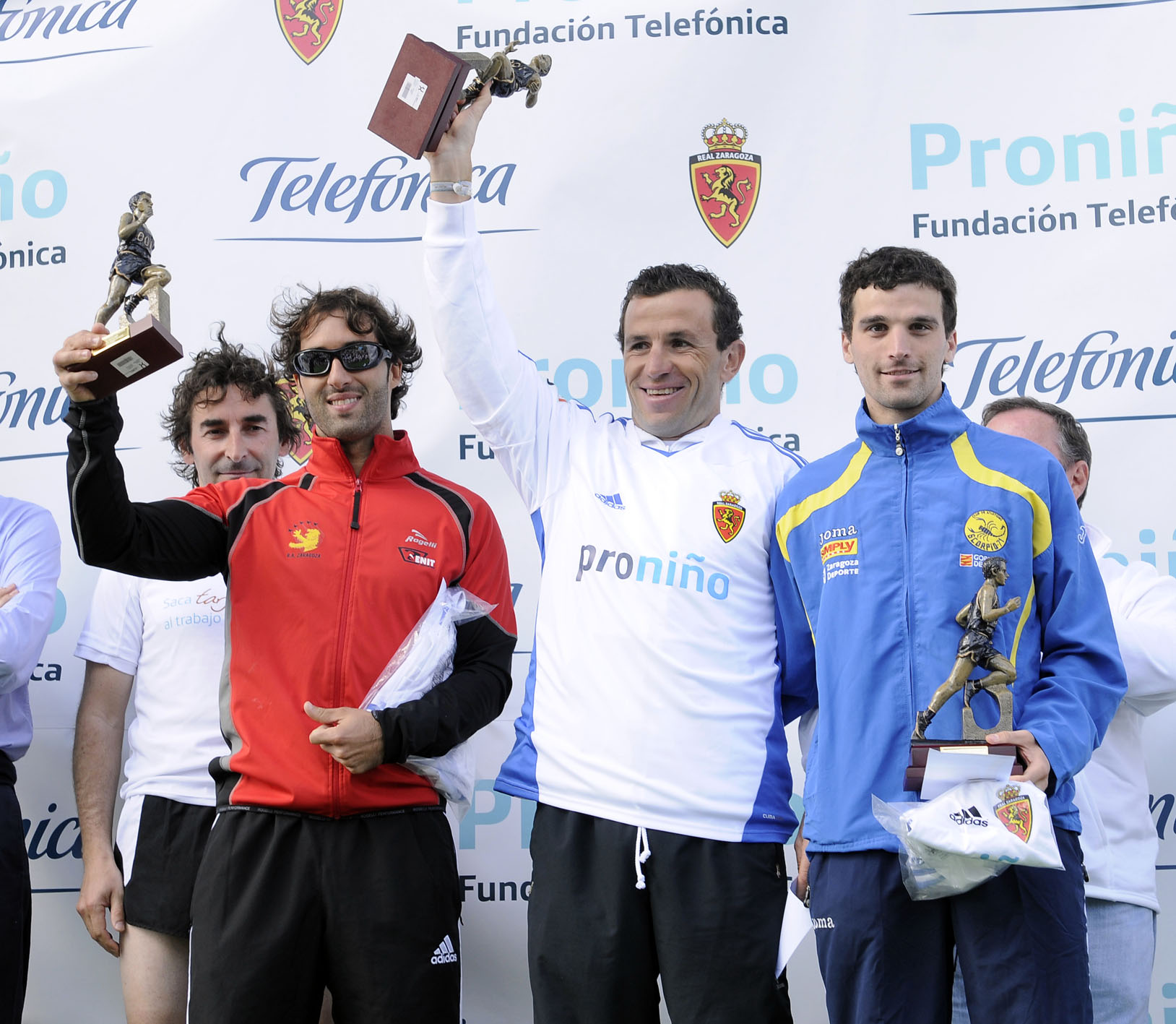 Los ganadores de la Carrera Proniño.
