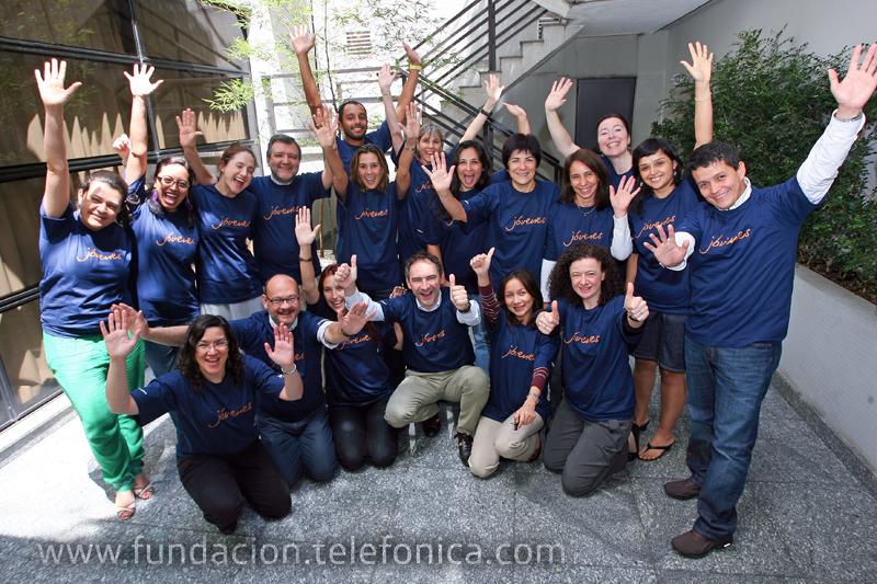Un encuentro excepcional se vivió en San Paulo, Brasil. Por primera vez las tres áreas de Fundación Telefónica se reunieron para alinear sus estrategias en pro de los jóvenes