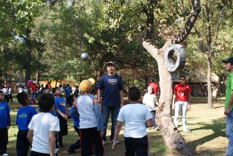 Más de 200 Voluntarios organizaron un momento de esparcimiento para los beneficiarios de Proniño