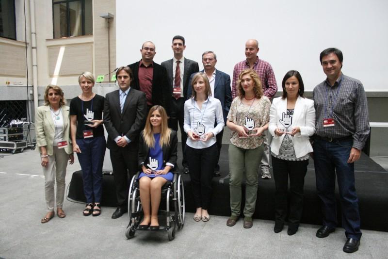 Todos los premiados en la edición 2011 de los Premios Cibermax