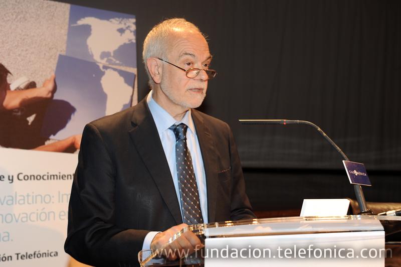 Javier Nadal, vicepresidente ejecutivo de Fundación Telefónica.