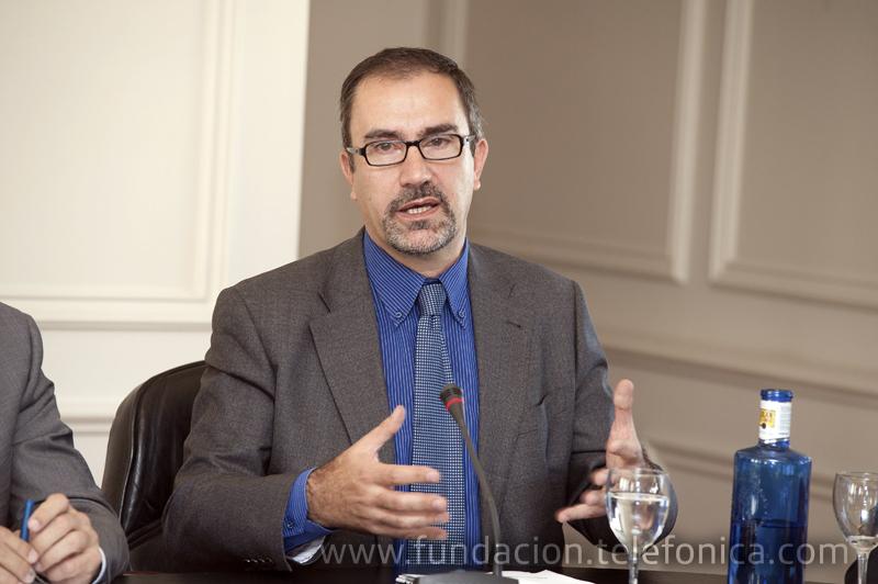José de la Peña, director de Conocimiento en Red de Fundación Telefónica.